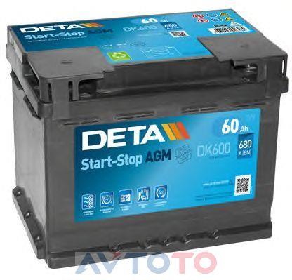 Аккумулятор Deta DK600