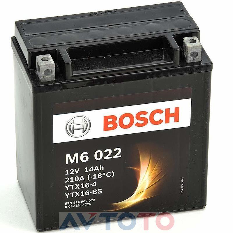 Аккумулятор Bosch 0092M60220
