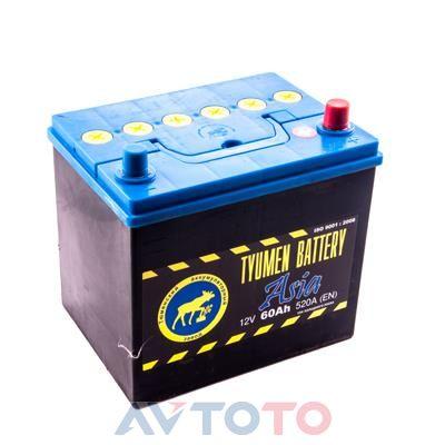 Аккумулятор Tyumen Battery  6CT60L0ASIA