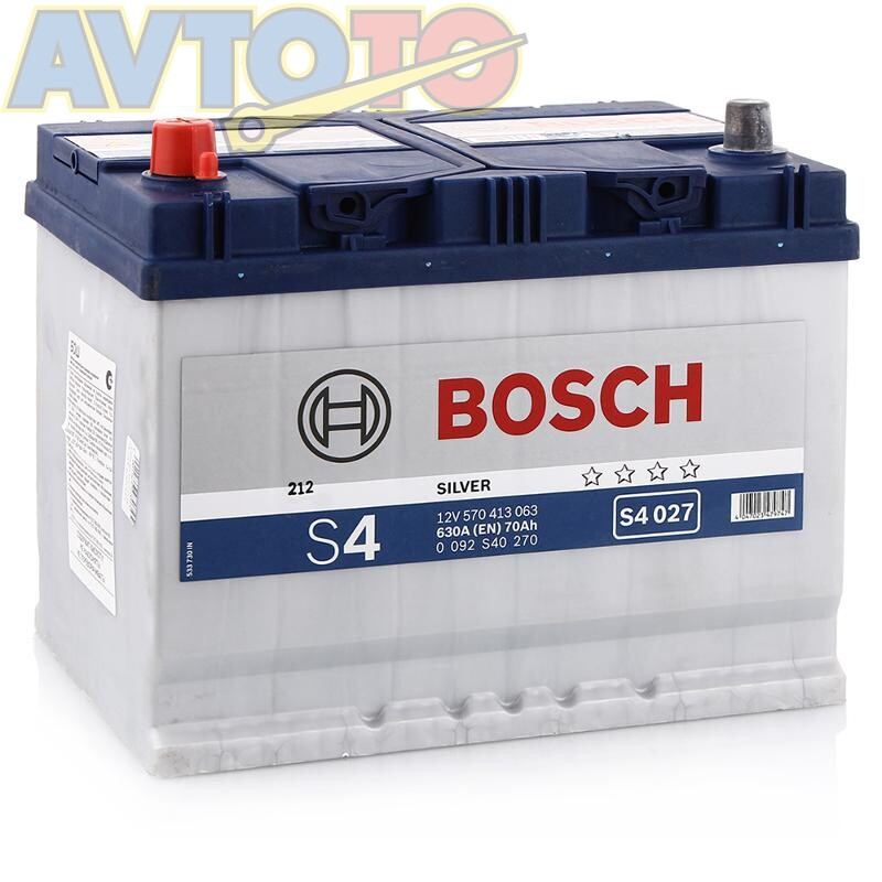 Аккумулятор Bosch 0092S40270