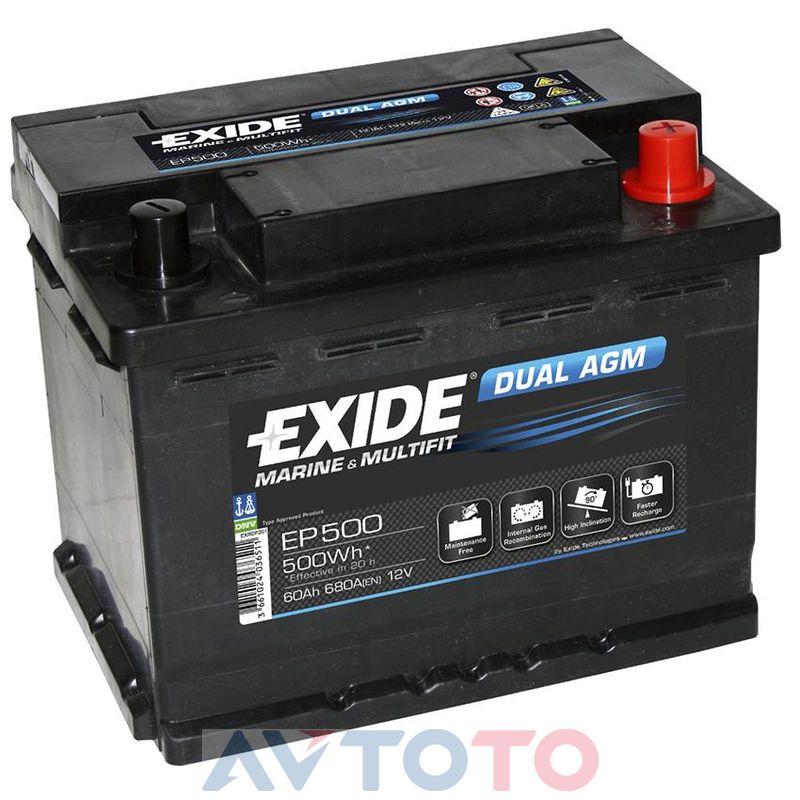Аккумулятор Exide EP500