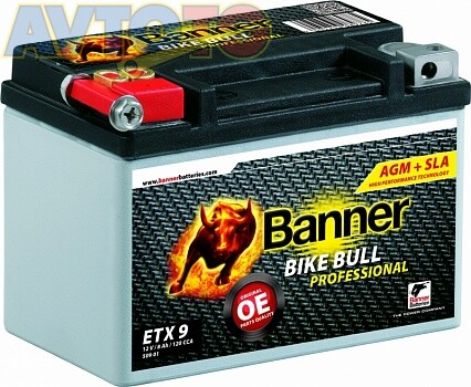 Аккумулятор Banner AGMPRO50901