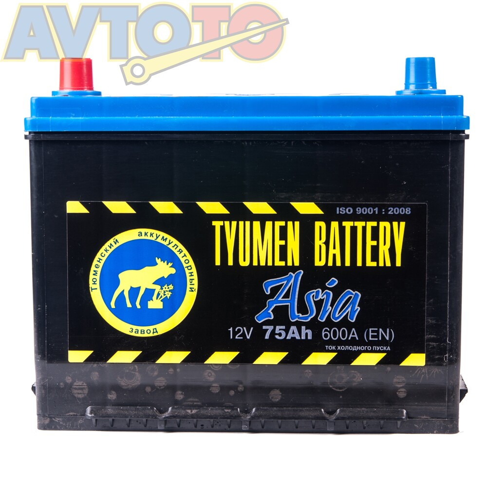 Аккумулятор Tyumen Battery  6CT75LASIA