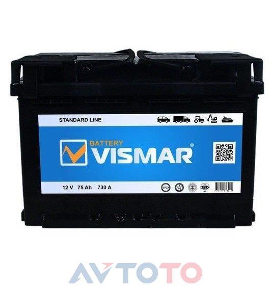 Аккумулятор Vismar 4660003793871