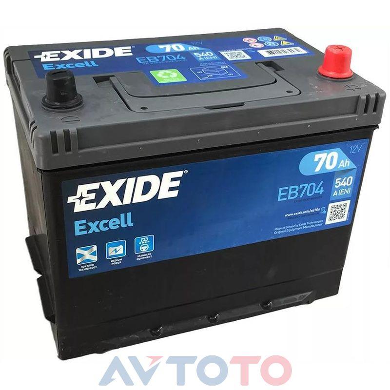 Аккумулятор Exide EB704