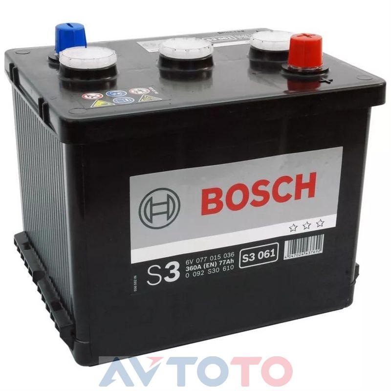 Аккумулятор Bosch 0092S30610