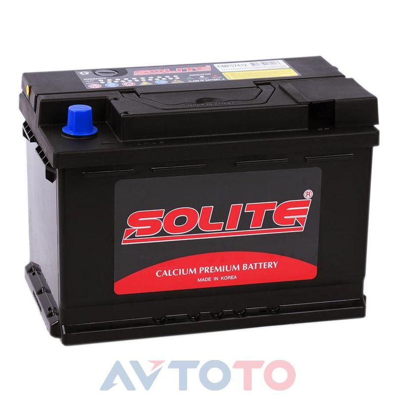 Аккумулятор Solite 57412
