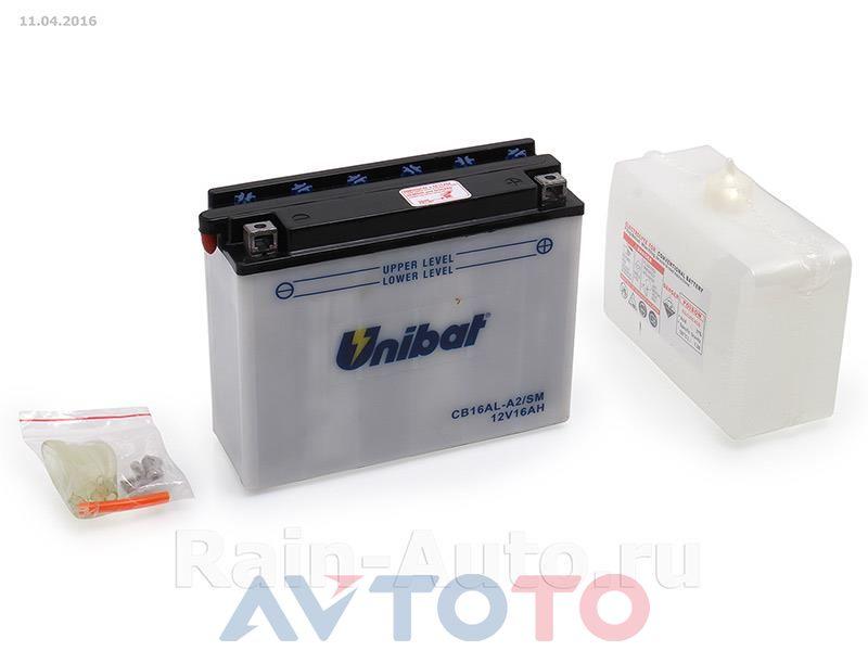Аккумулятор UNIBAT BMCB16ALA2U