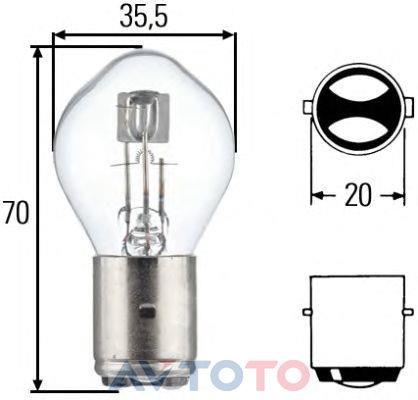Лампа Hella 8GD002084151