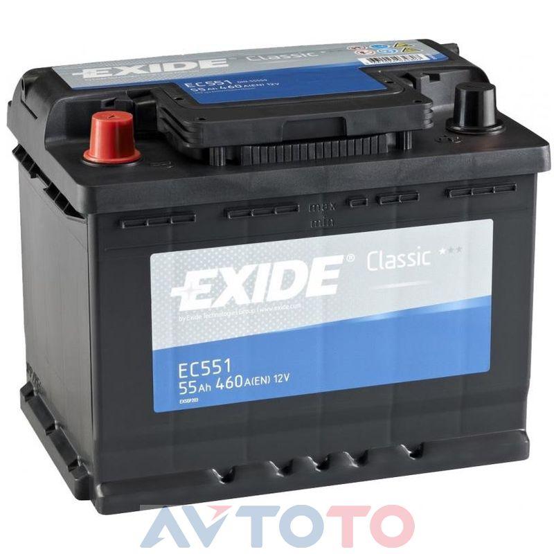 Аккумулятор Exide EC551