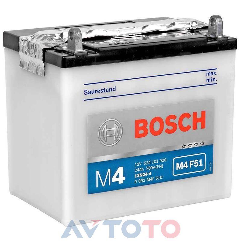 Аккумулятор Bosch 0092M4F510