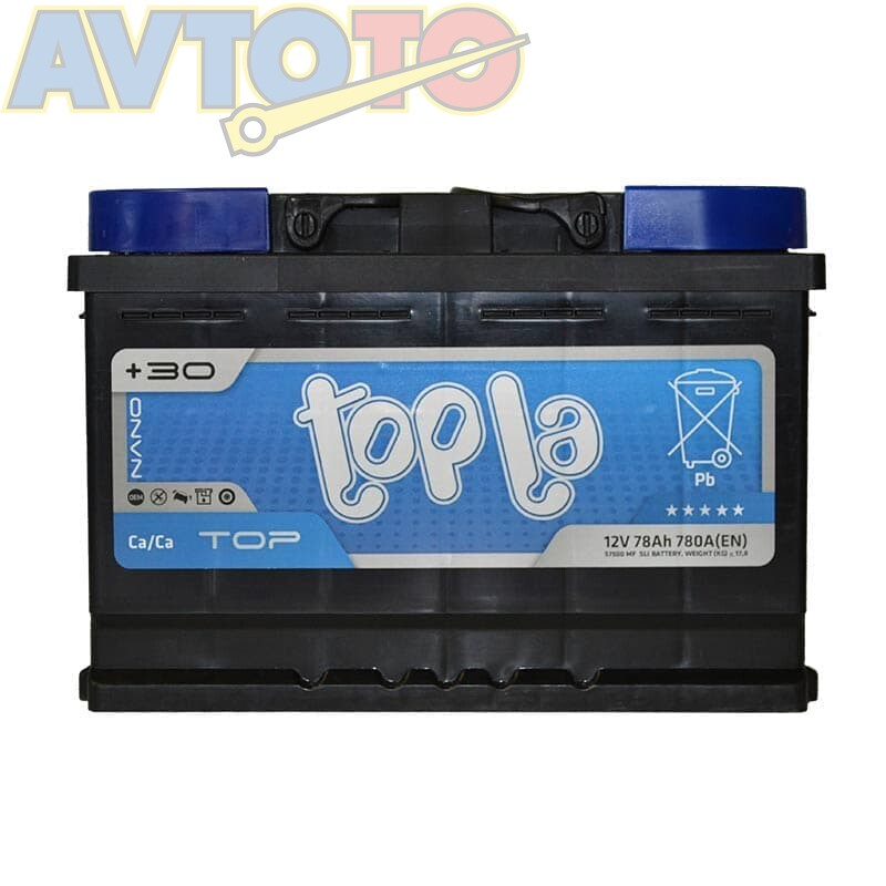 Аккумулятор Topla 118678