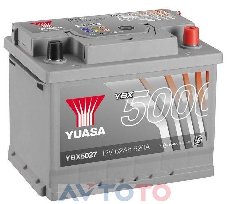 Аккумулятор Yuasa YBX5027