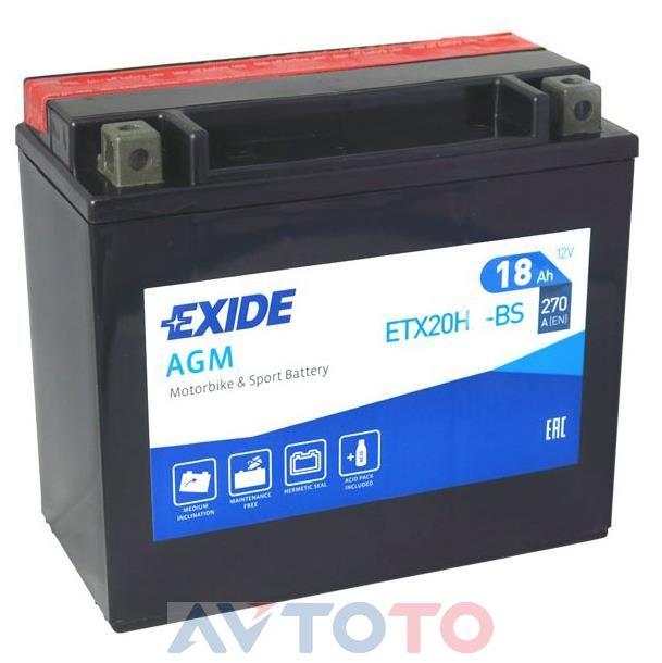 Аккумулятор Exide ETX20HBS