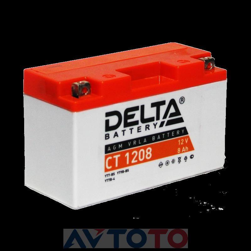 Аккумулятор Delta Battery CT1208