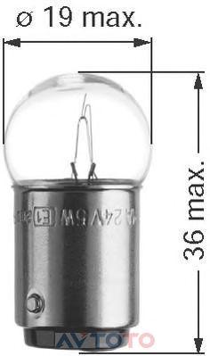 Лампа Beru 0500412160