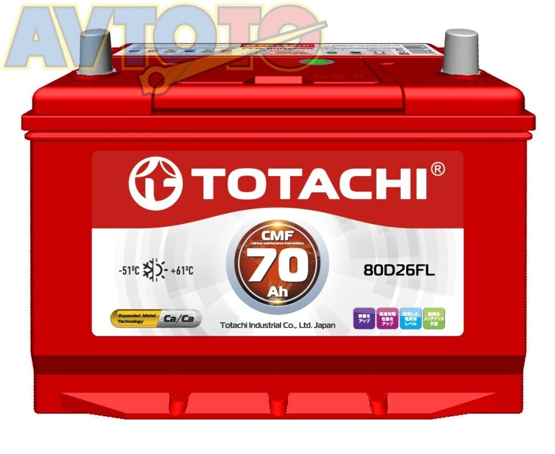Аккумулятор Totachi 4589904524295