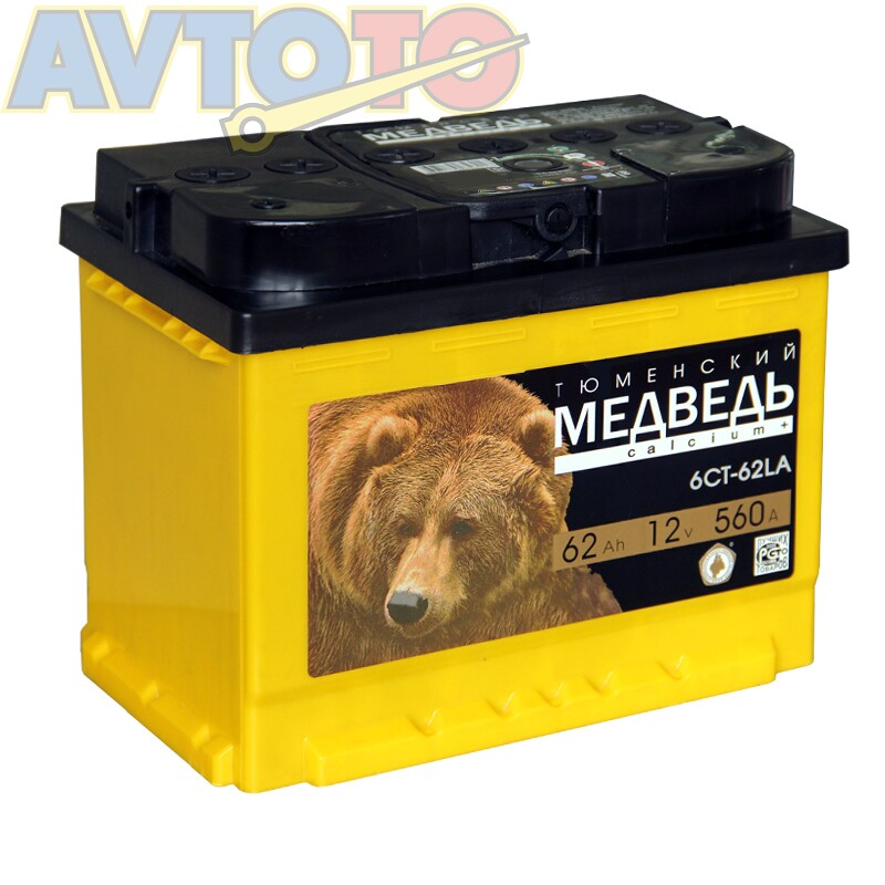 Аккумулятор Тюменский медведь 46071756509391