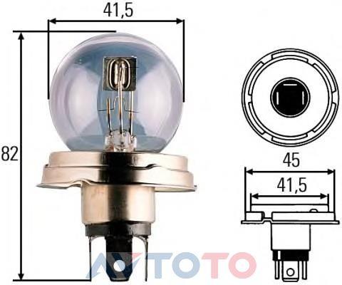 Лампа Hella 8GD002088131