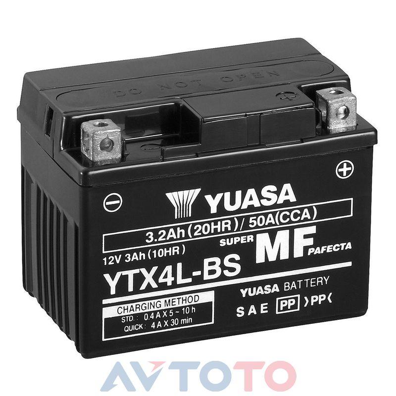 Аккумулятор Yuasa YTX4LBS