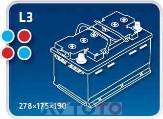 Аккумулятор Ipsa TME60