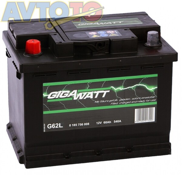 Аккумулятор Gigawatt 0185756008