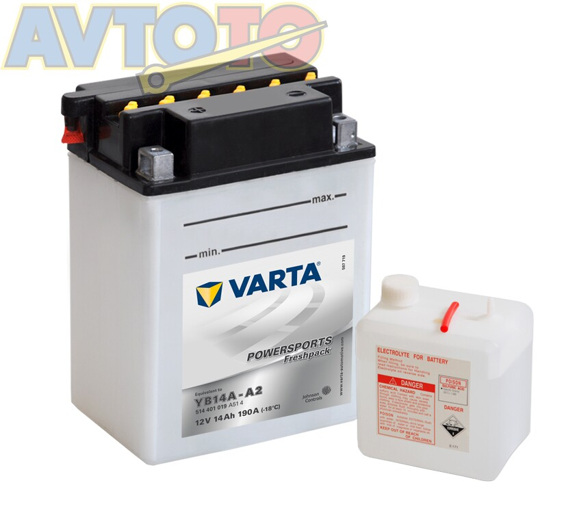 Аккумулятор Varta 514401019