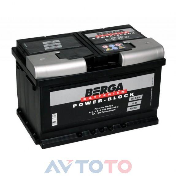 Аккумулятор Berga 5724090687502