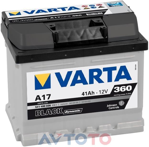 Аккумулятор Varta 541400036