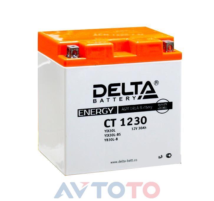Аккумулятор Delta Battery CT1230