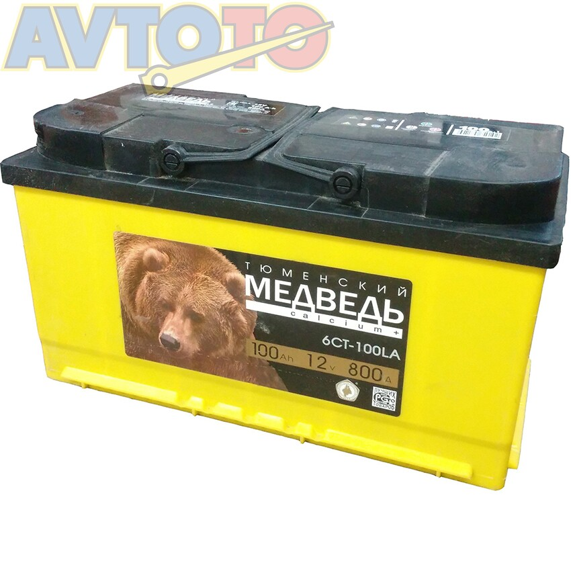 Аккумулятор Тюменский медведь 4607175659208