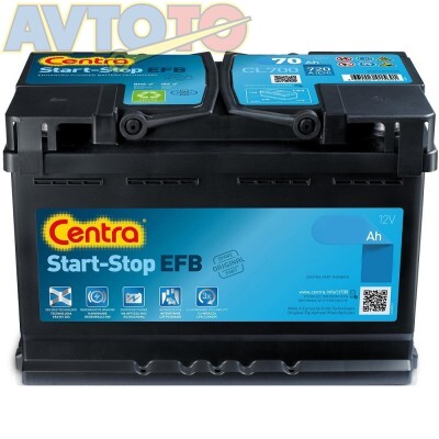 Аккумулятор Centra CL550