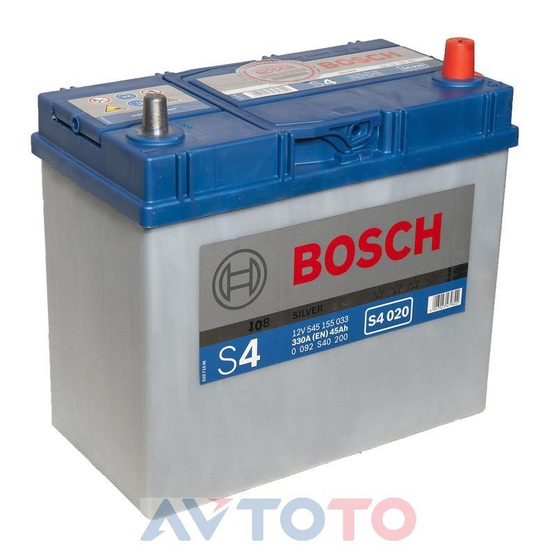 Аккумулятор Bosch 0092S40200