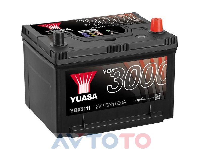 Аккумулятор Yuasa YBX3111