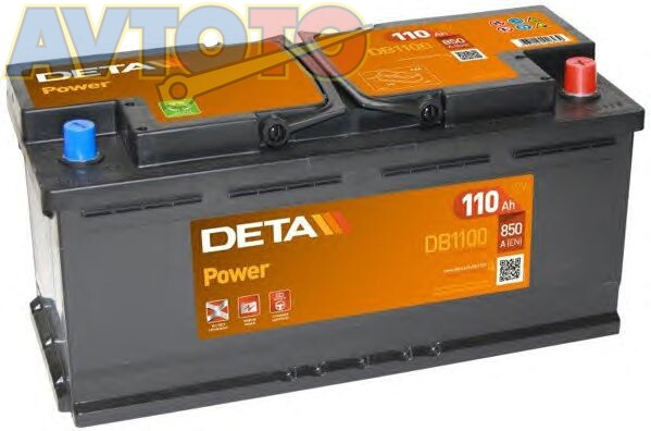 Аккумулятор Deta DB1100