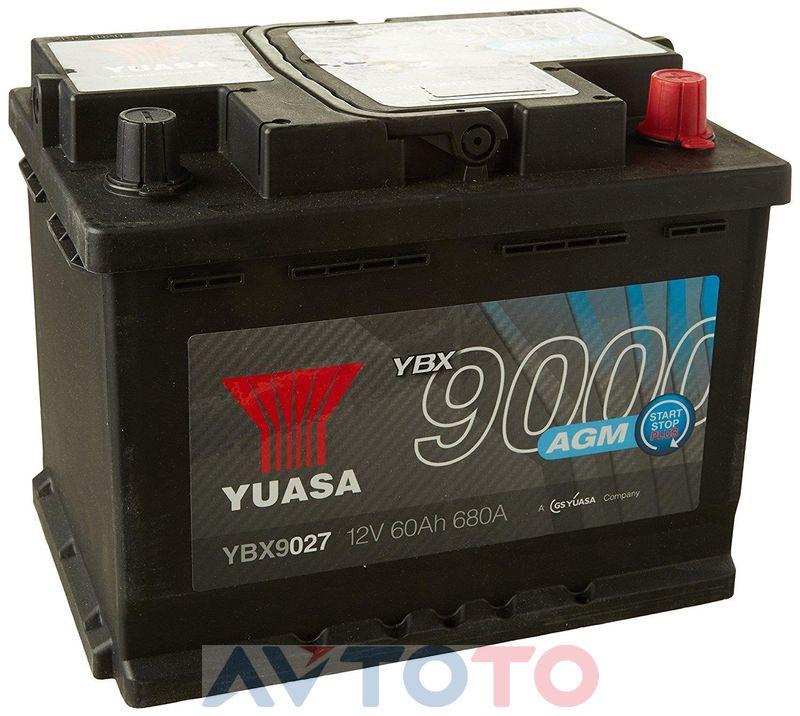 Аккумулятор Yuasa YBX9027