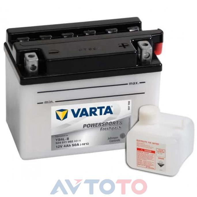 Аккумулятор Varta 504011002