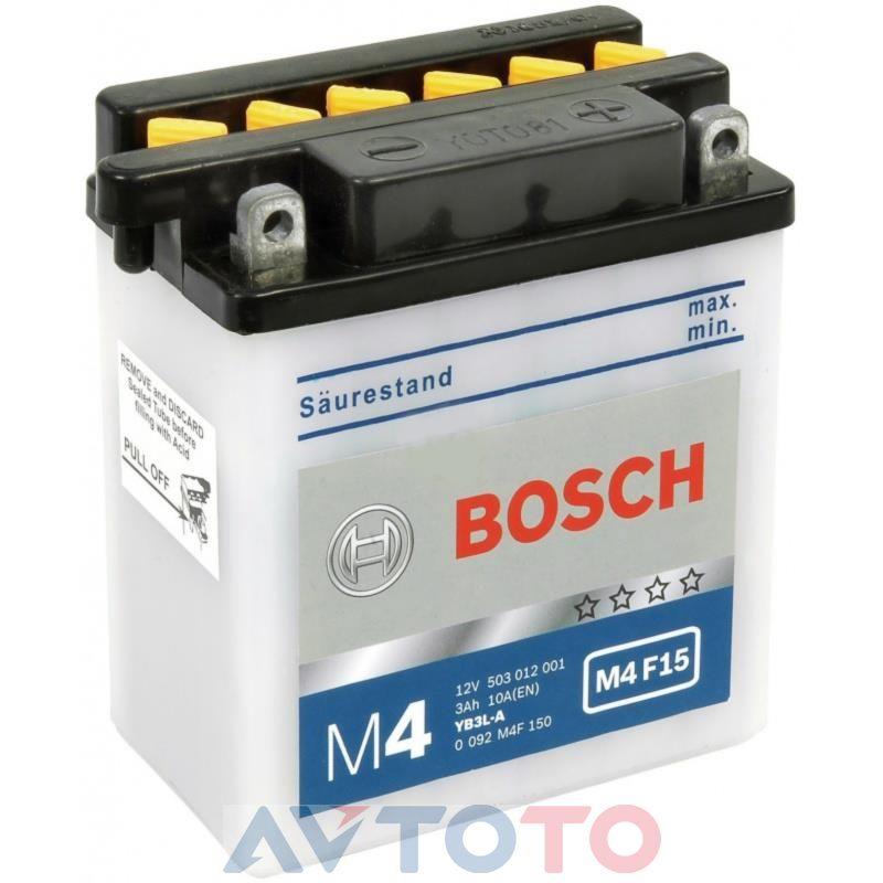 Аккумулятор Bosch 0092M4F150