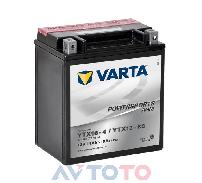 Аккумулятор Varta 514901022
