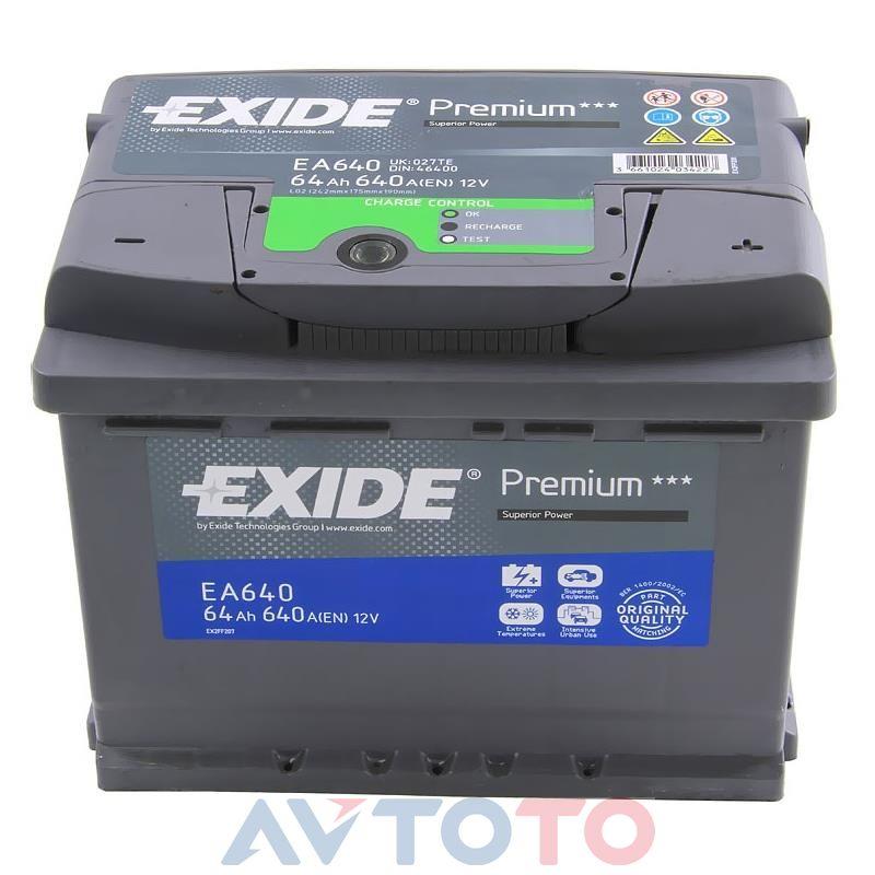 Аккумулятор Exide EA640