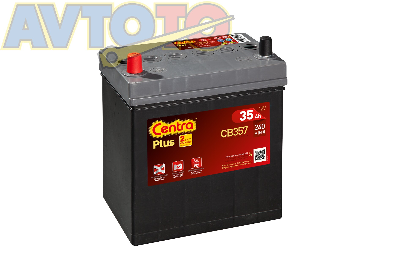 Аккумулятор Centra CB357