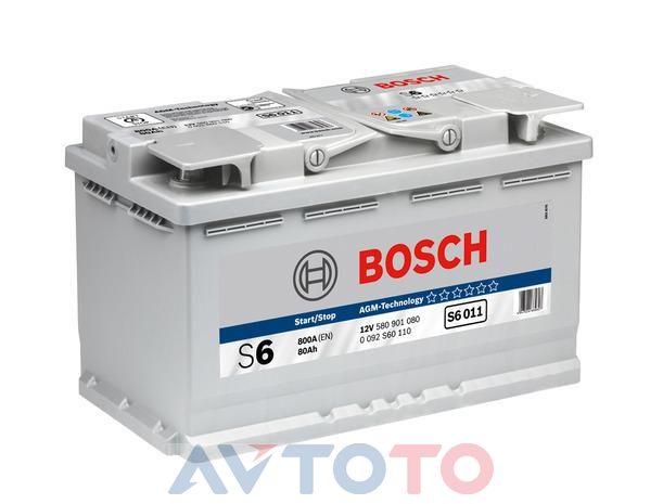 Аккумулятор Bosch 0092S60110