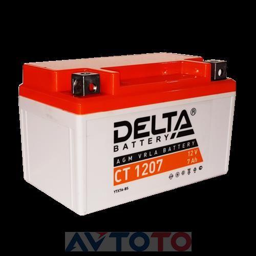 Аккумулятор Delta Battery CT1207