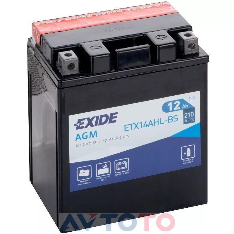 Аккумулятор Exide ETX14AHLBS