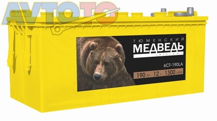 Аккумулятор Тюменский медведь 4607175651035