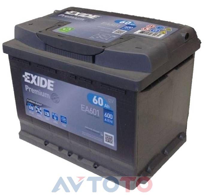 Аккумулятор Exide EA601