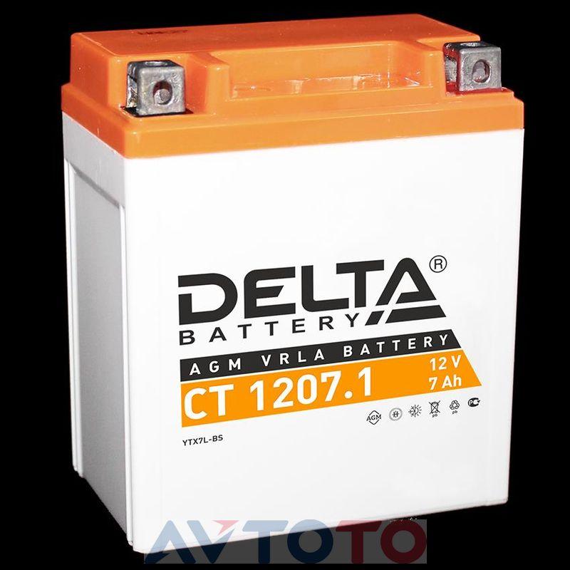 Аккумулятор Delta Battery CT12071