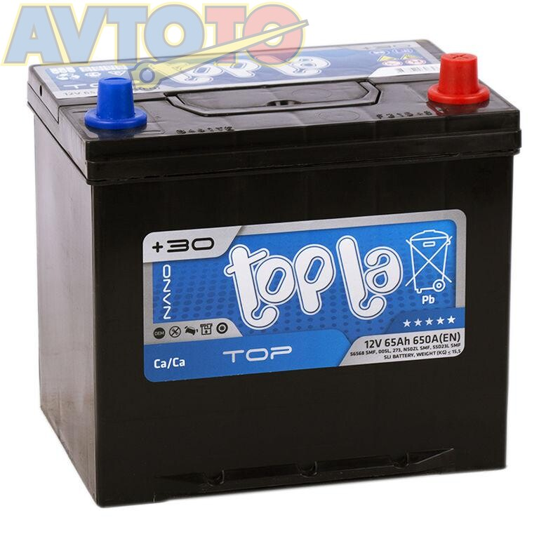 Аккумулятор Topla 118665
