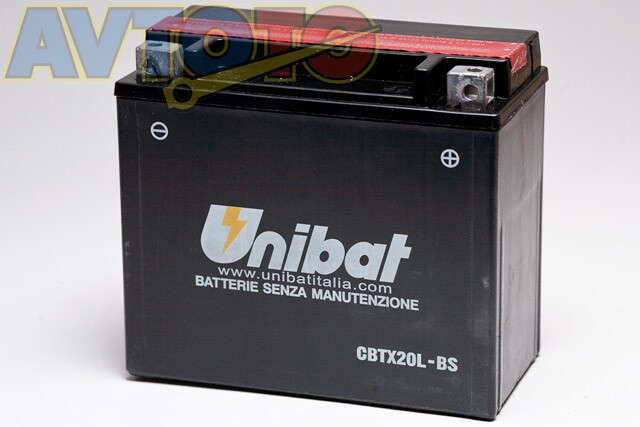 Аккумулятор UNIBAT BMCBTX20LBSU