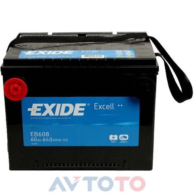 Аккумулятор Exide EB608